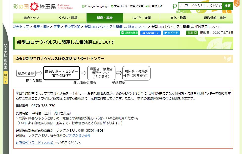 埼玉県コロナ死亡